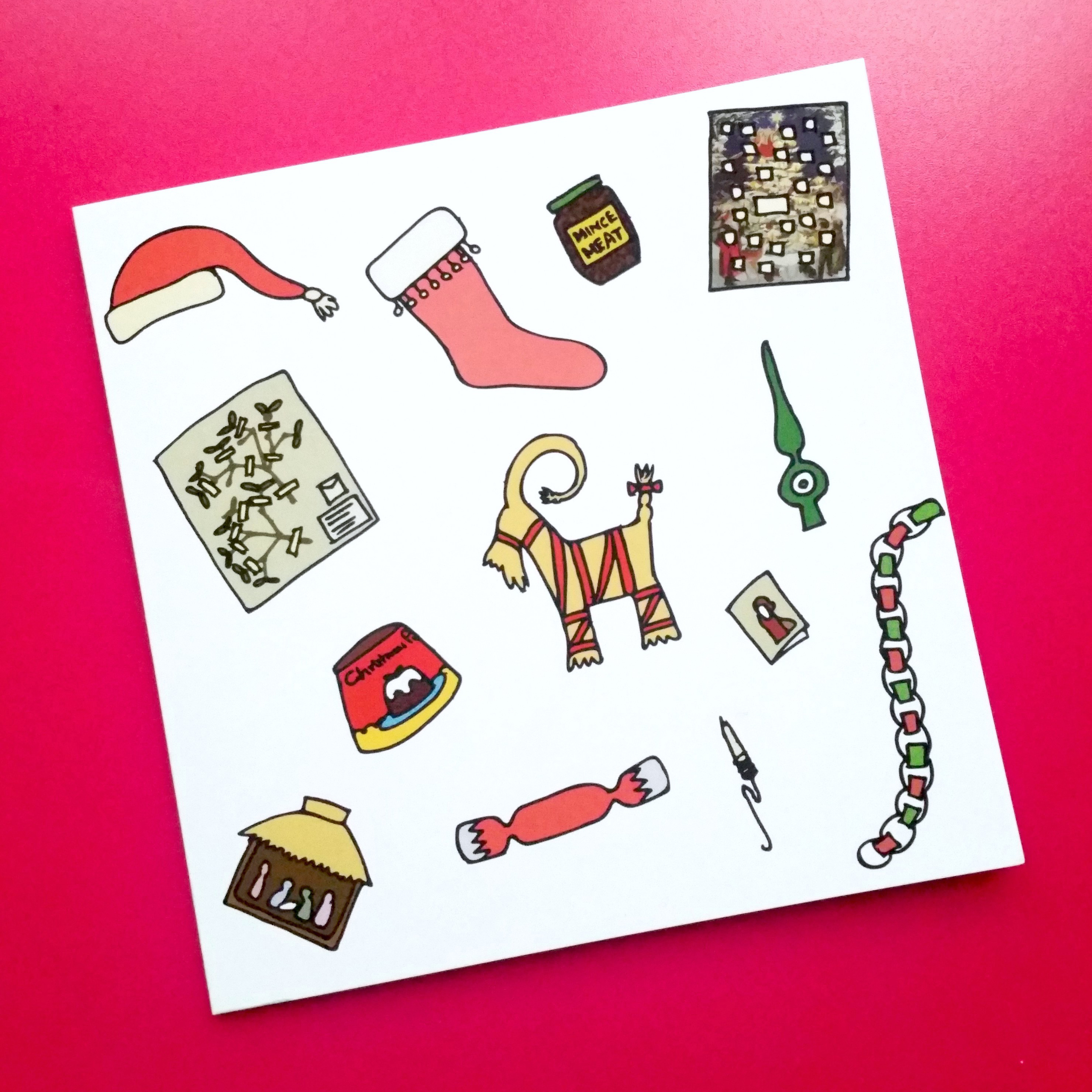 Christmas Card – Museum Objects